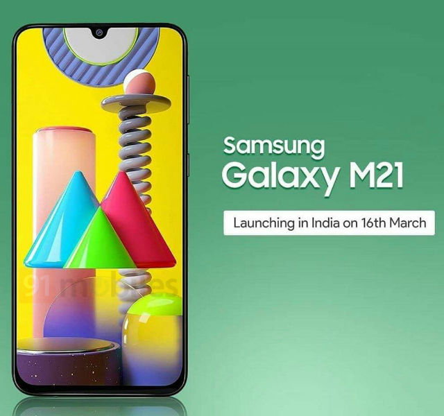 Samsung Galaxy M21 India Launch Date