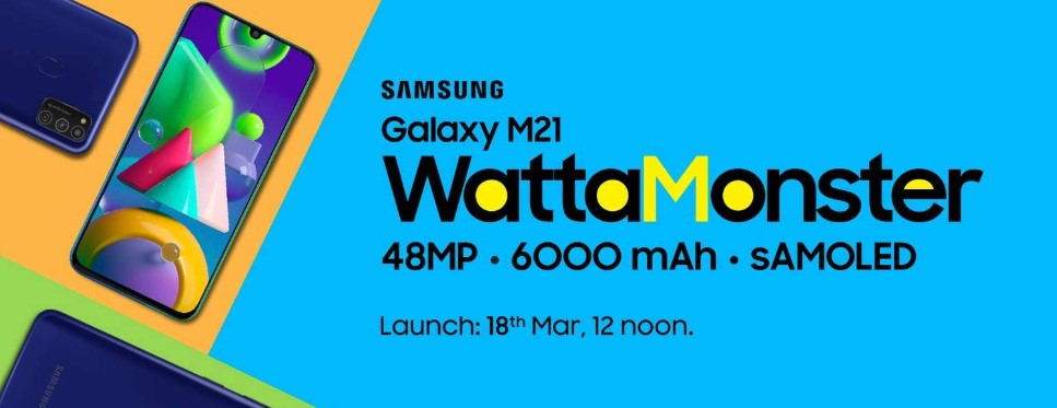 Samsung Galaxy M21 India Launch Delayed March 12