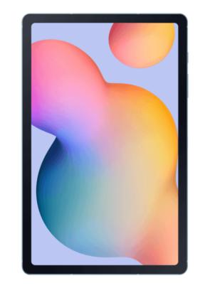 Samsung Galaxy Tab S6 Lite Screen Blue