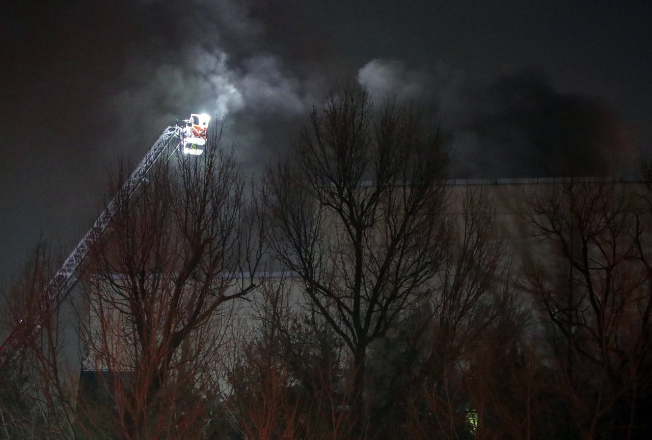 Samsung Hwaseong Chip Plant Catches Fire