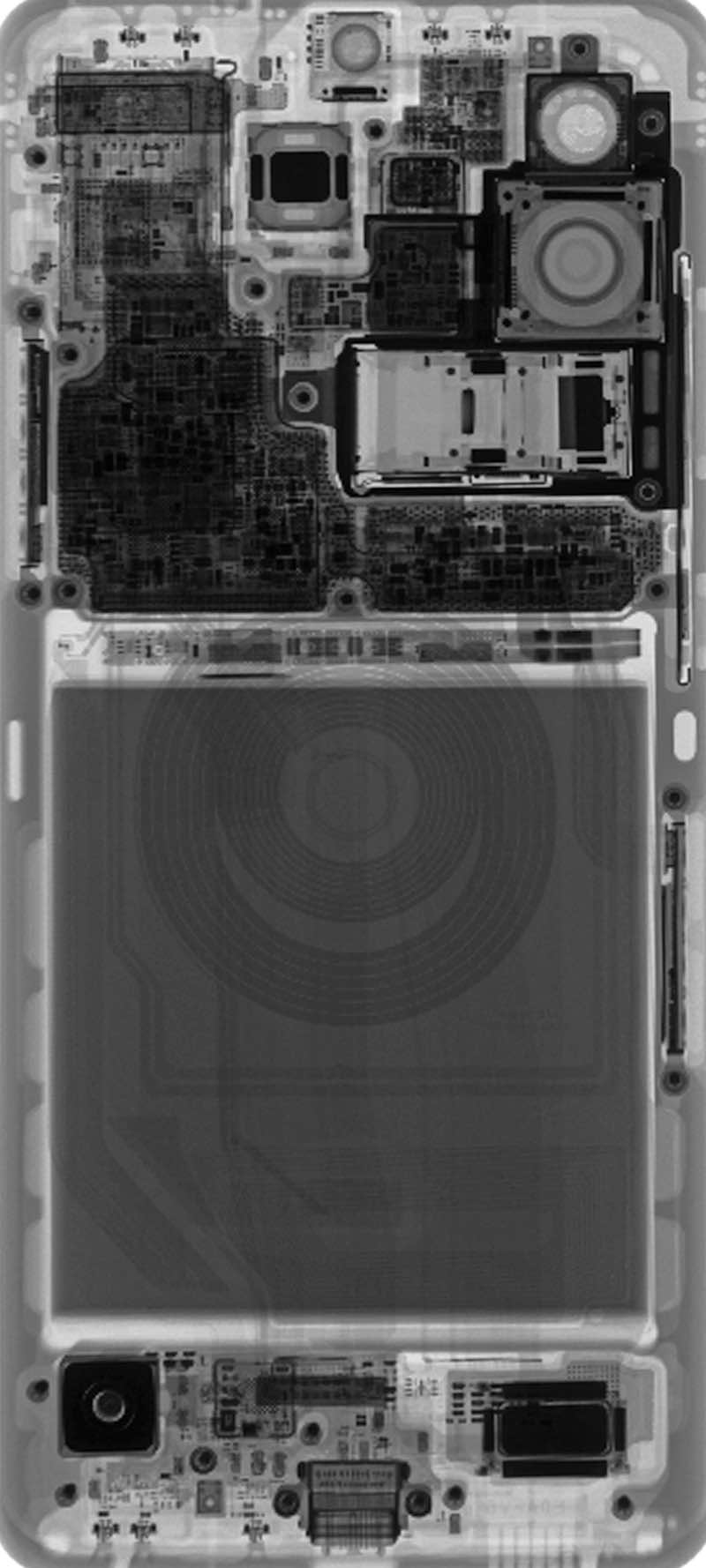 Check Out Samsung Galaxy S20 Wallpapers Of The Internals X Ray Too Sammobile