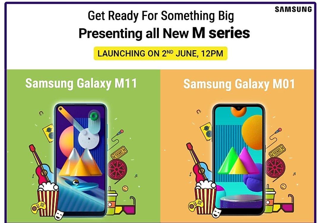 Galaxy m01 m11 india