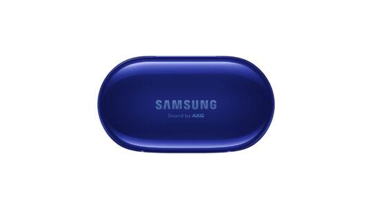Samsung Galaxy Buds+ Aura Blue Case