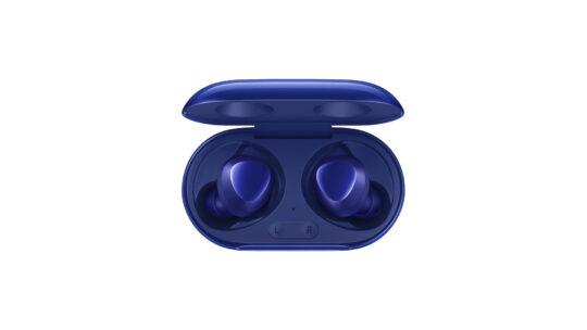 Samsung Galaxy Buds+ Aura Blue Inside Case