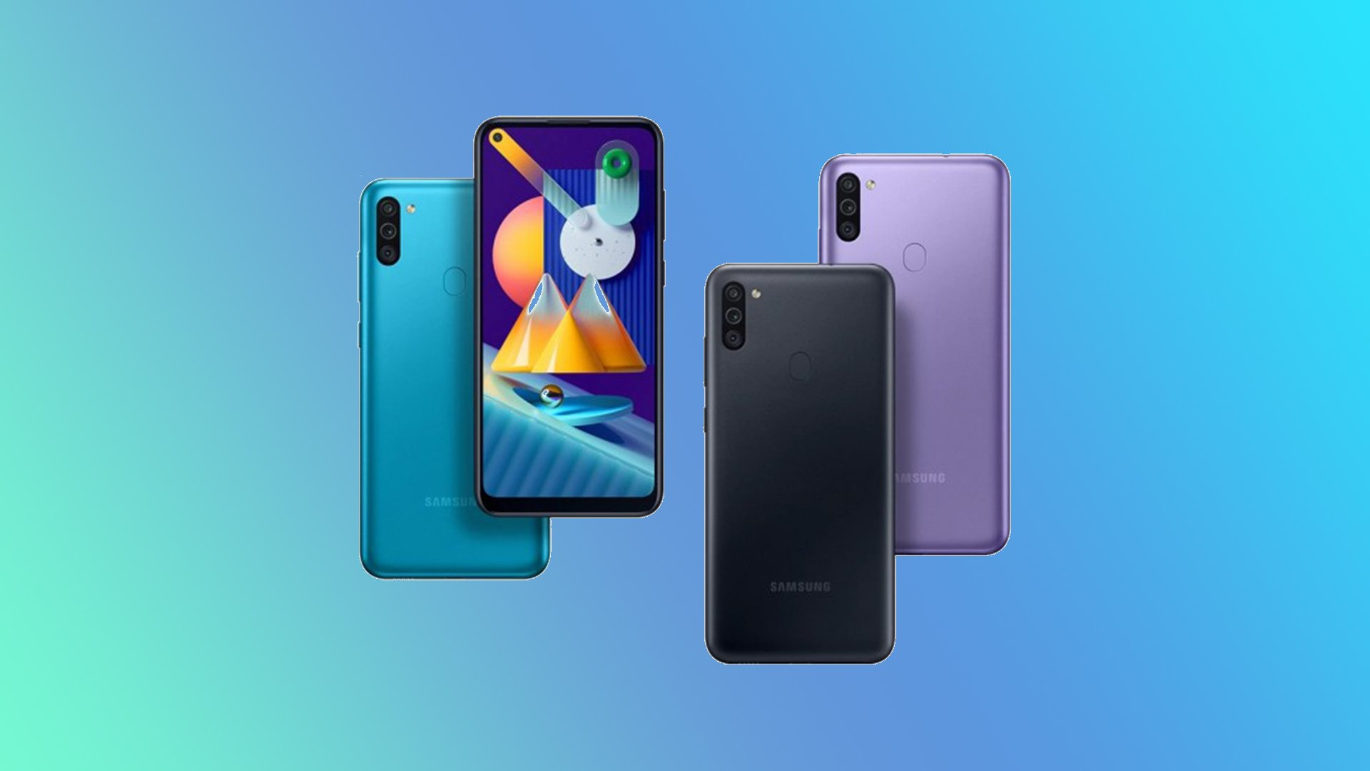 Samsung launches Galaxy M01 and Galaxy M11 in India - SamMobile