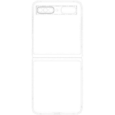 Samsung Galaxy Z Flip 2 Design A