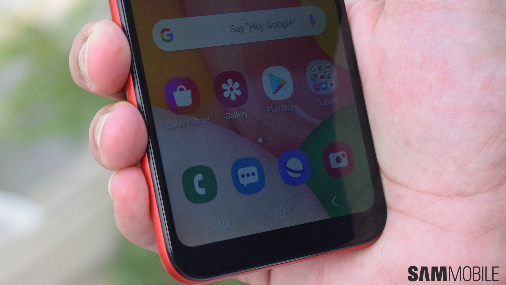 Samsung Galaxy A01 Hands On Budgeting For Success Sammobile