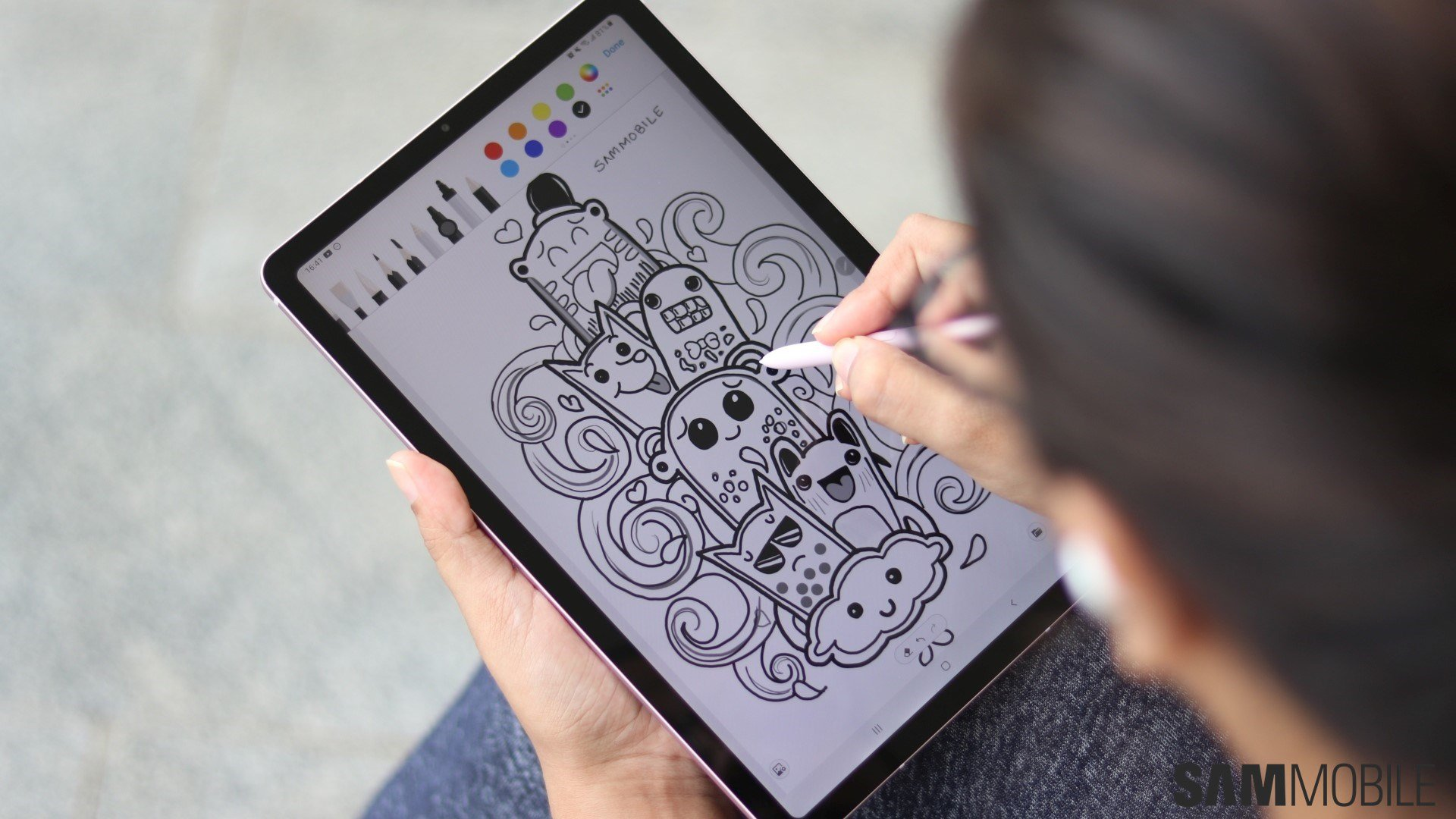 Samsung Galaxy Tab S6 Lite Review Bringing The S Pen To The Masses Sammobile