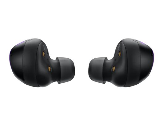 Samsung Galaxy Buds+ BTS Edition Earbuds Side View