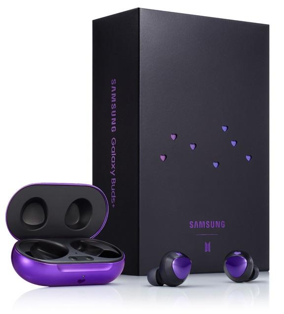 Samsung Galaxy Buds+ BTS Edition Purple