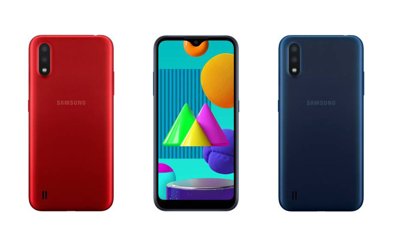 Samsung Galaxy M01 Colors