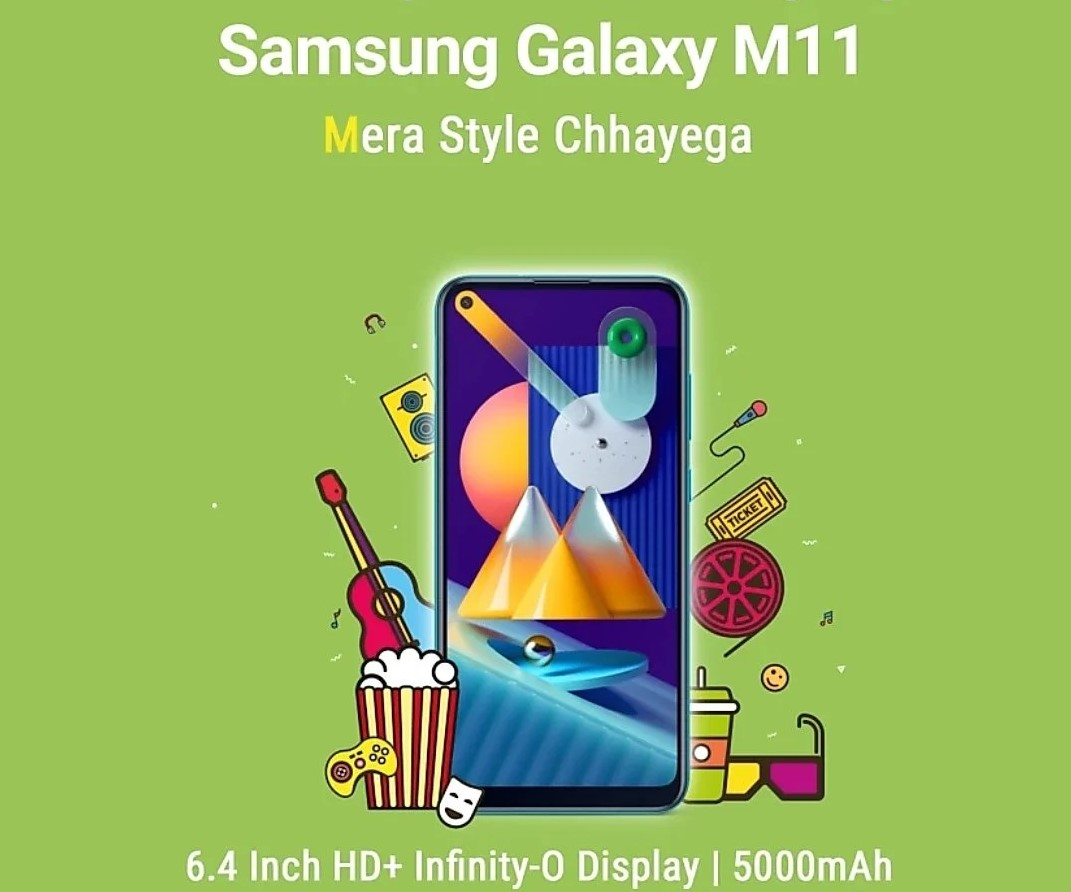 Samsung Galaxy M01 and Galaxy M11 launched in India; Price and specifications