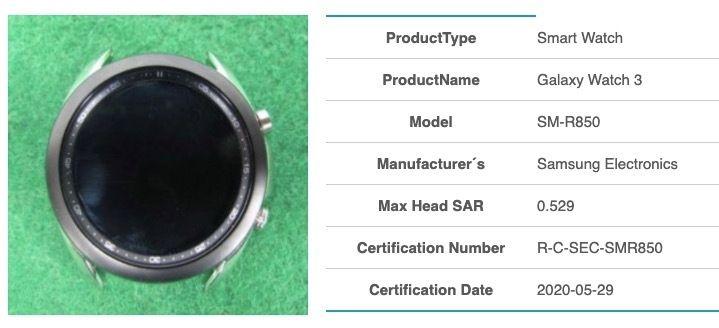 Samsung Galaxy Watch 3 SM-R850