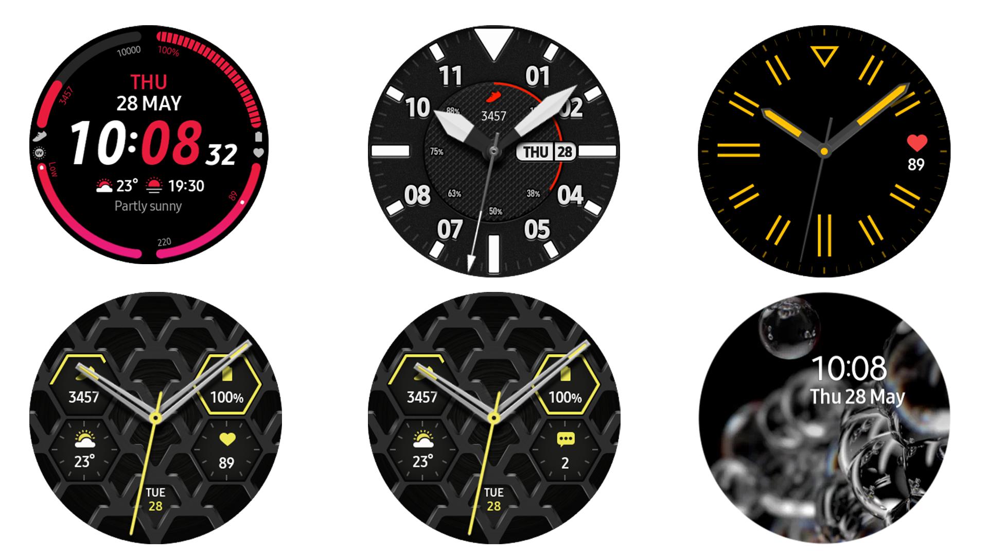 Samsung Galaxy Watch 3 Watch Faces