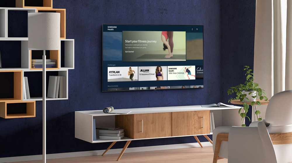 Samsung Health On Samsung Smart TVs