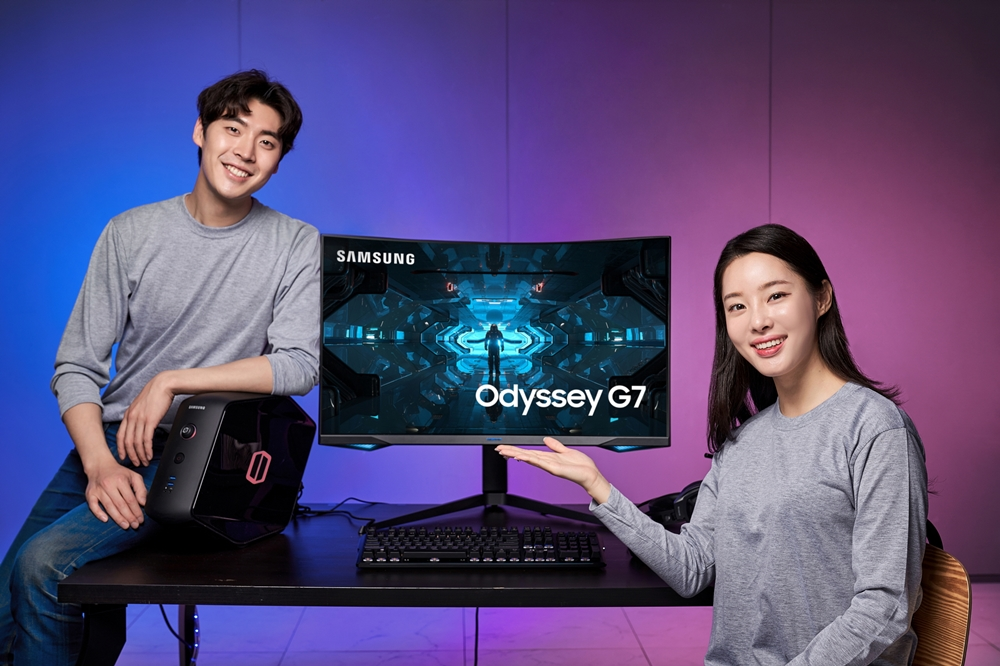 Samsung Odyssey G7 Gaming Monitor South Korea Launch