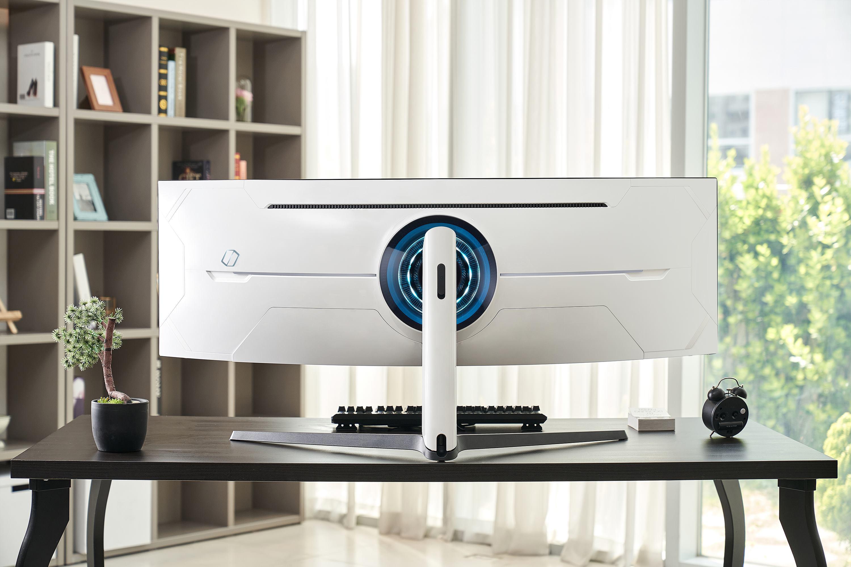Samsung Odyssey G9 Gaming Monitor Infinity Core Lighting