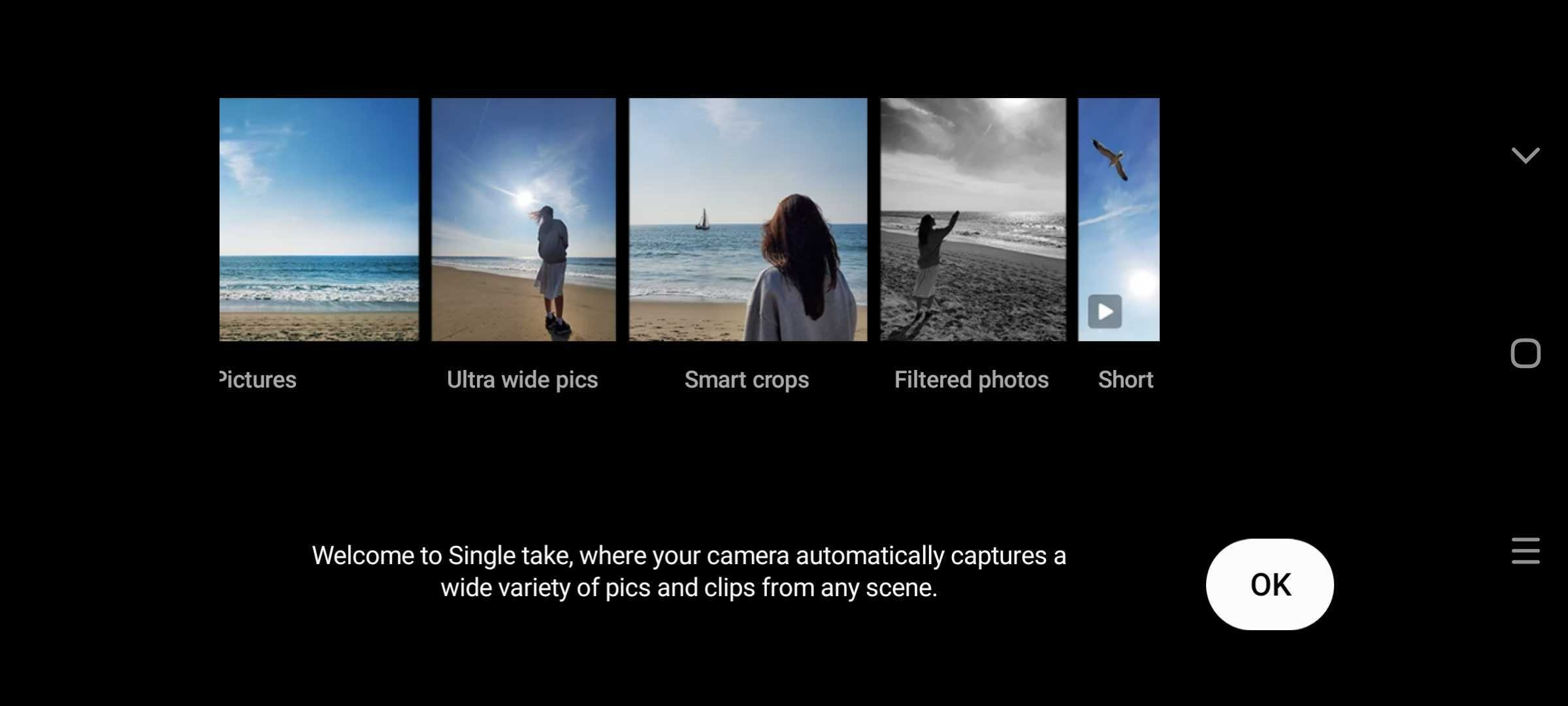 galaxy s20 single take camera mode