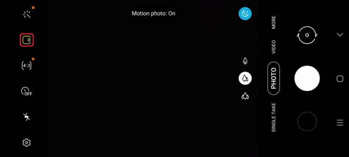 one ui 2 motion photo