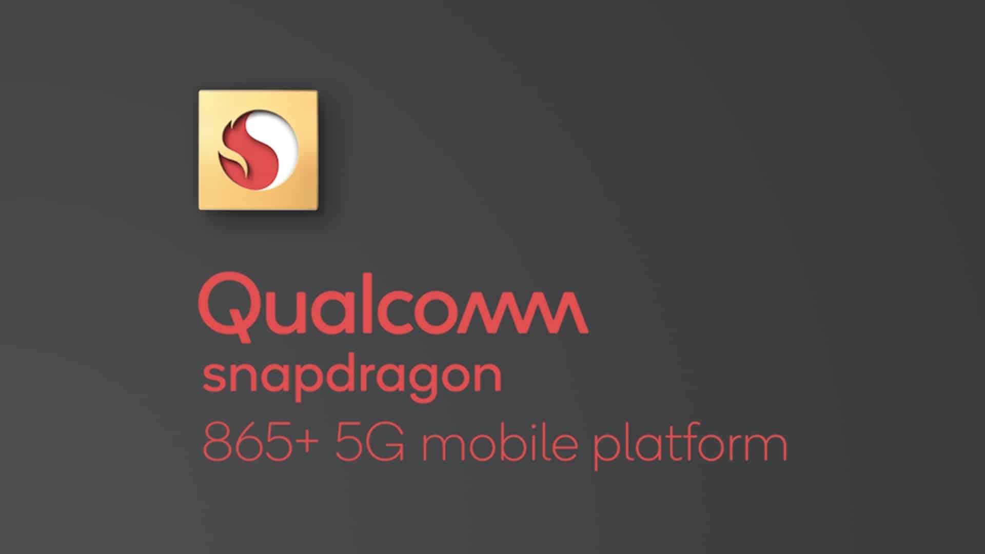 Logotipo de Qualcomm Snapdragon 865+