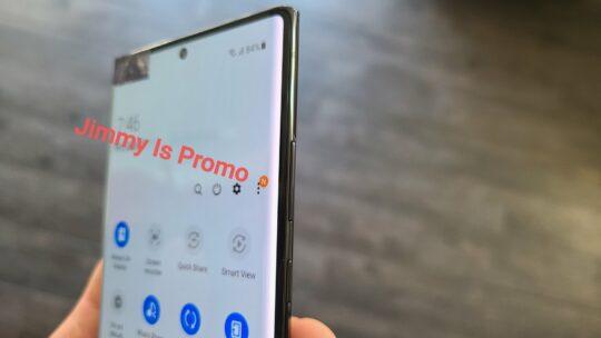 Samsung Galaxy Note 20 Ultra Bezels Power Volume Buttons