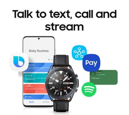 Samsung Galaxy Watch 3 Bixby