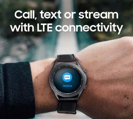 Samsung Galaxy Watch 3 Connectivity