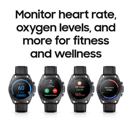 Samsung Galaxy Watch 3 Health Fitness Monitoring