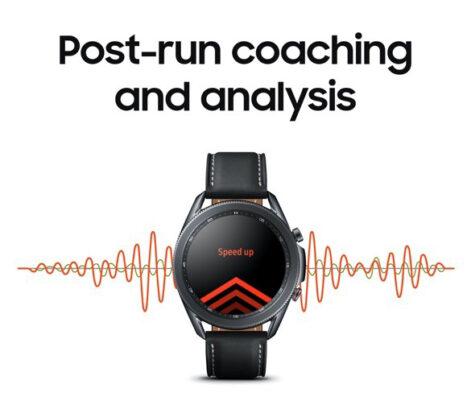 Samsung Galaxy Watch 3 Post Run Coaching Analysis
