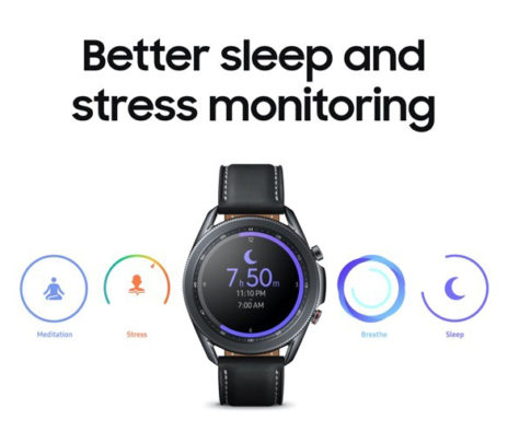 Samsung Galaxy Watch 3 Sleep Monitoring