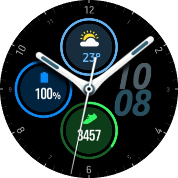 Samsung Galaxy Watch 3 Watch Face - 01
