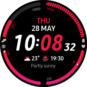 Samsung Galaxy Watch 3 Watch Face - 03