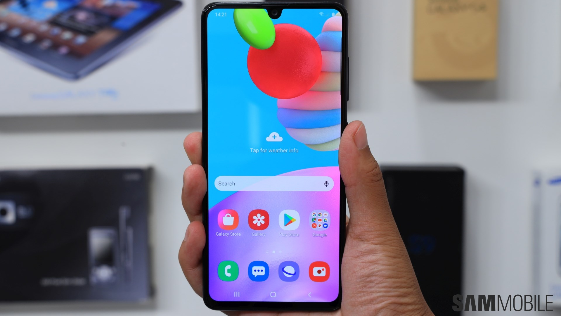 Samsung Galaxy A41 Review A Compact Mid Range Phone Done Right Sammobile