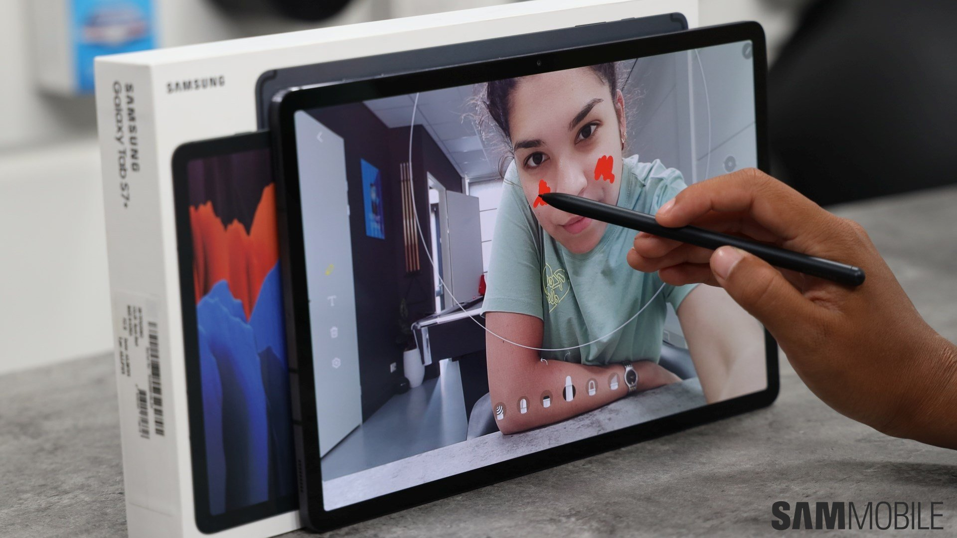 Galaxy Tab S7 Plus Review Look No Further For The Best Work From Home Tablet Sammobile