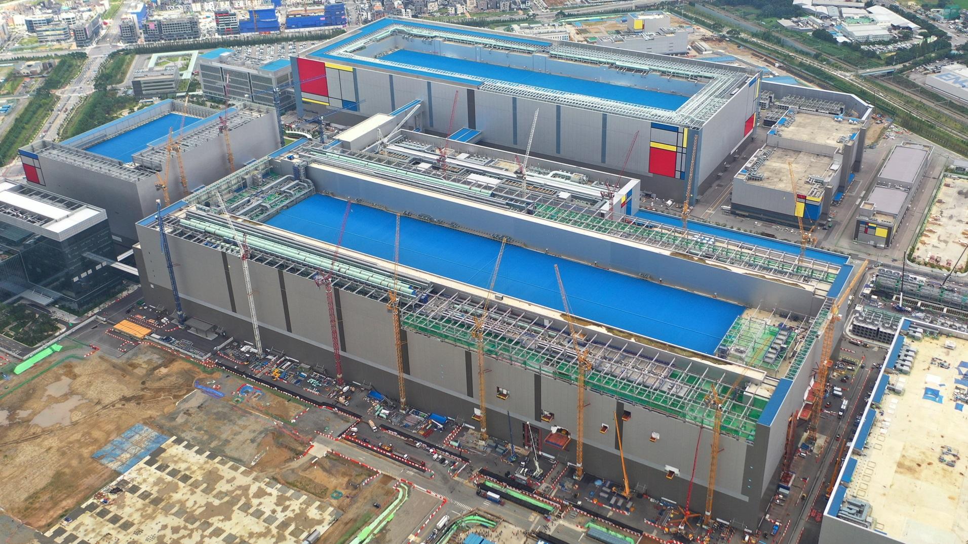 Samsung Foundry Pyeongtaek Line 2 16GB LPDDR5 DRAM Plant