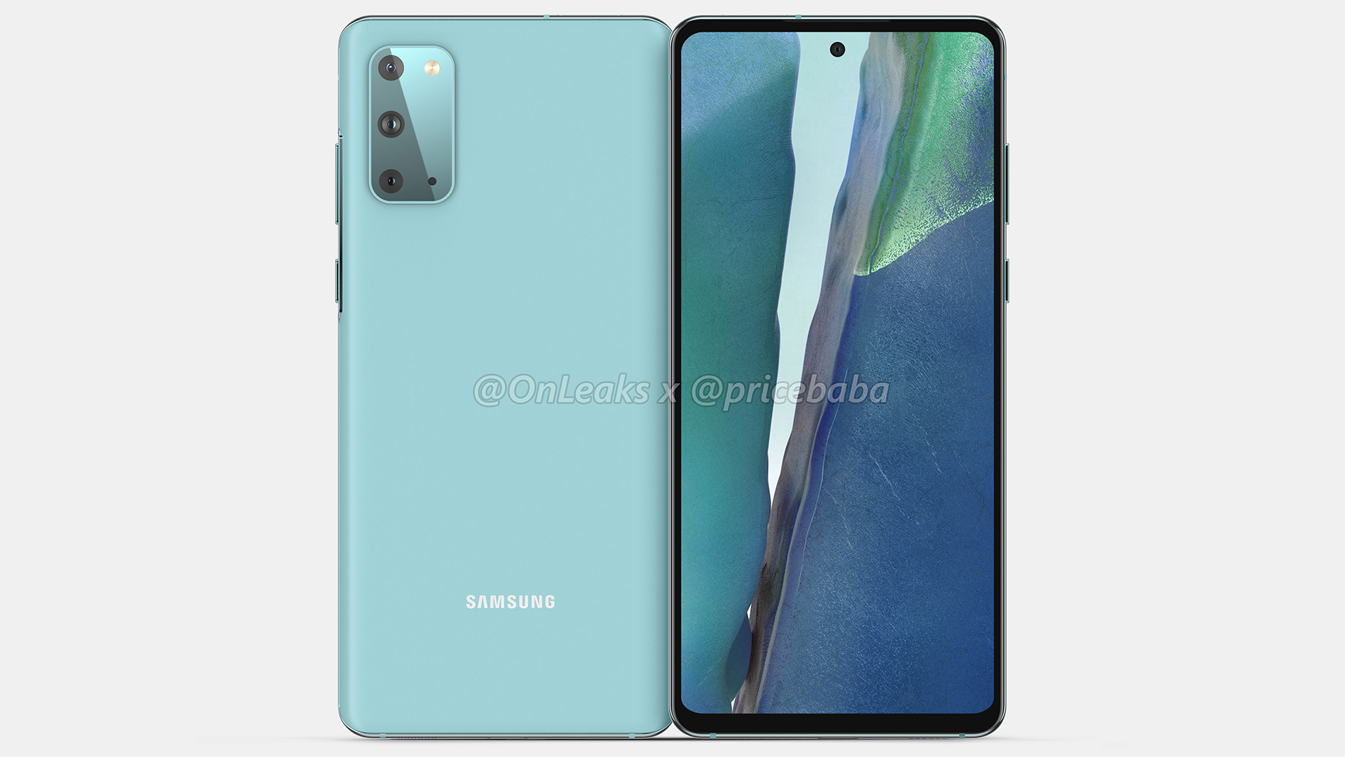 Samsung Galaxy S20 Fan Edition Leaks Again Looking Better Than Ever Sammobile