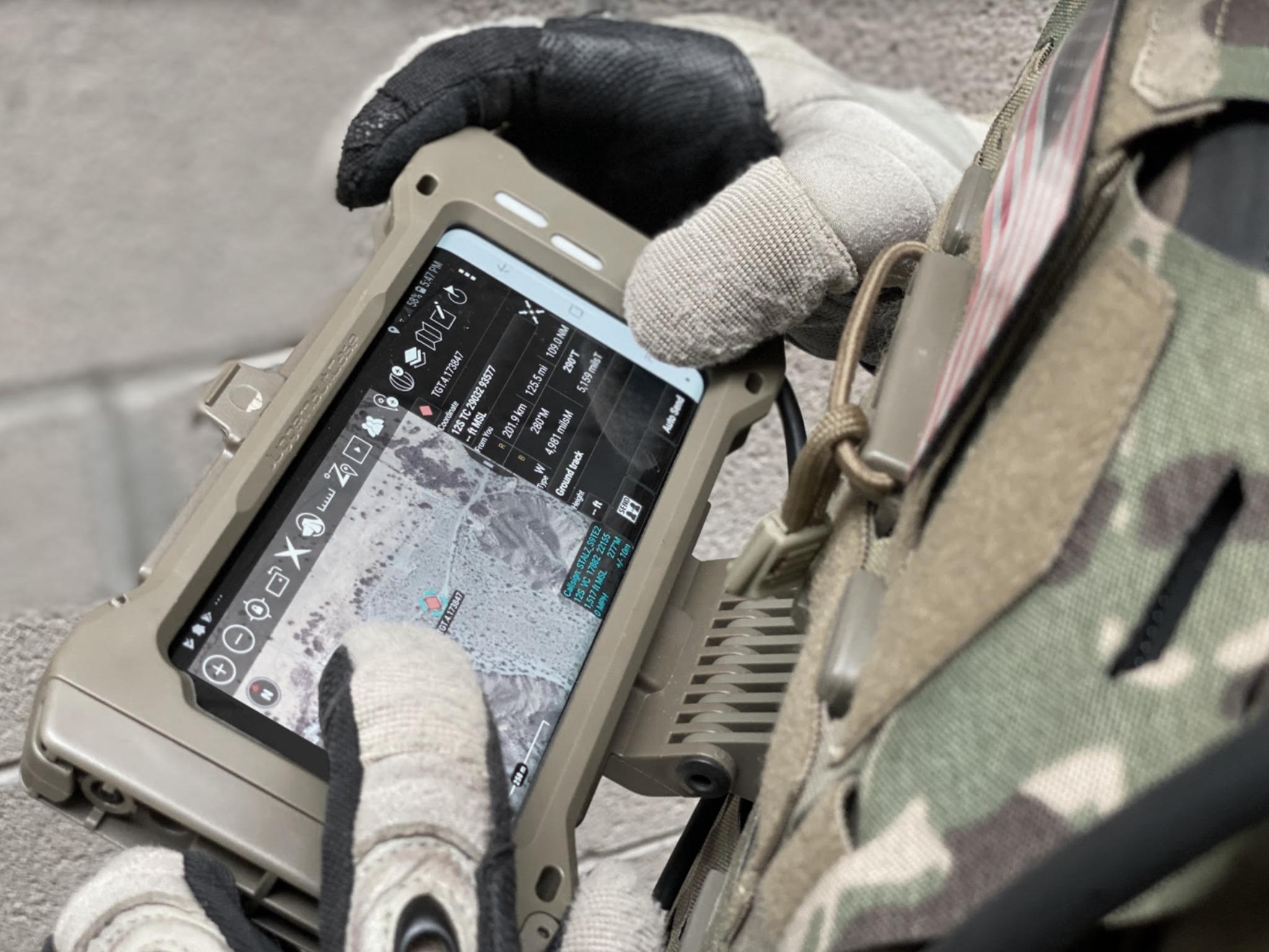 Samsung Galaxy S20 Tactical Edition Situational Awareness