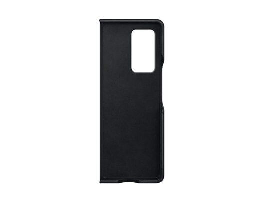 Samsung Galaxy Z Fold 2 Leather Cover Black Inside