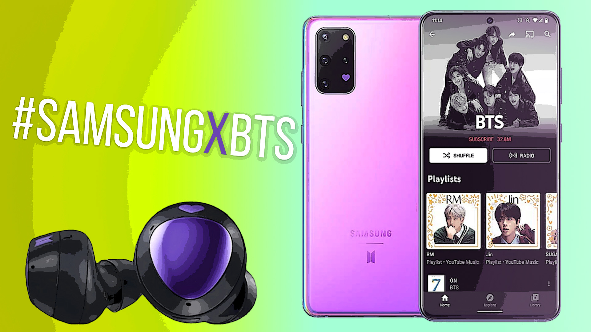 The Bts Effect V Drums Up Renewed Interest In Galaxy S20 Again Sammobile