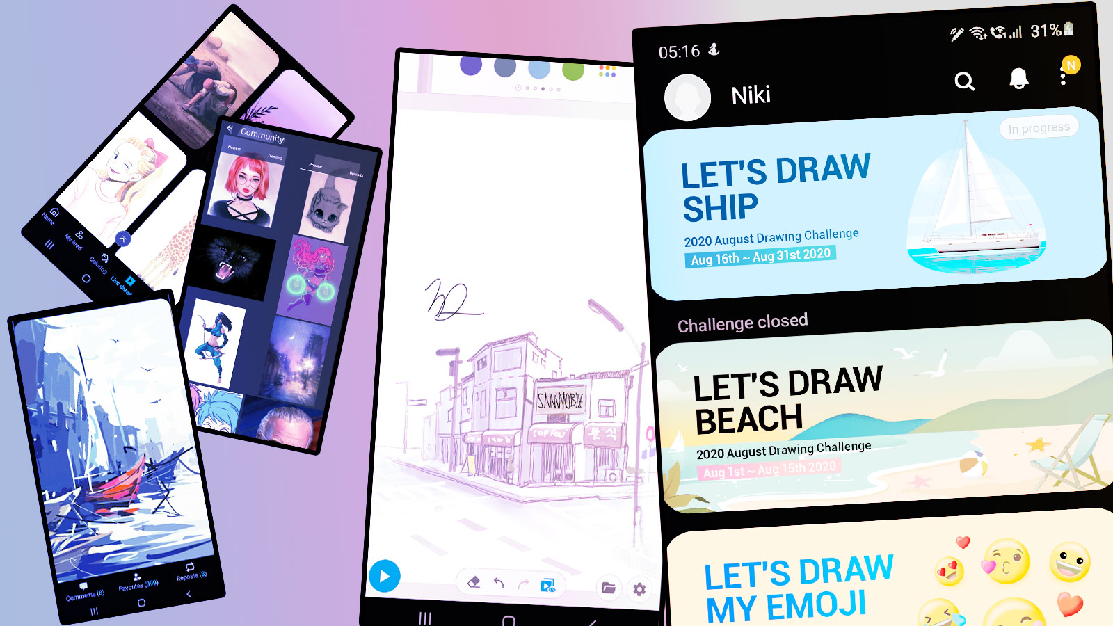 Best S Pen Drawing Apps For Your New Galaxy Note 20 And Galaxy Tab S7 Sammobile