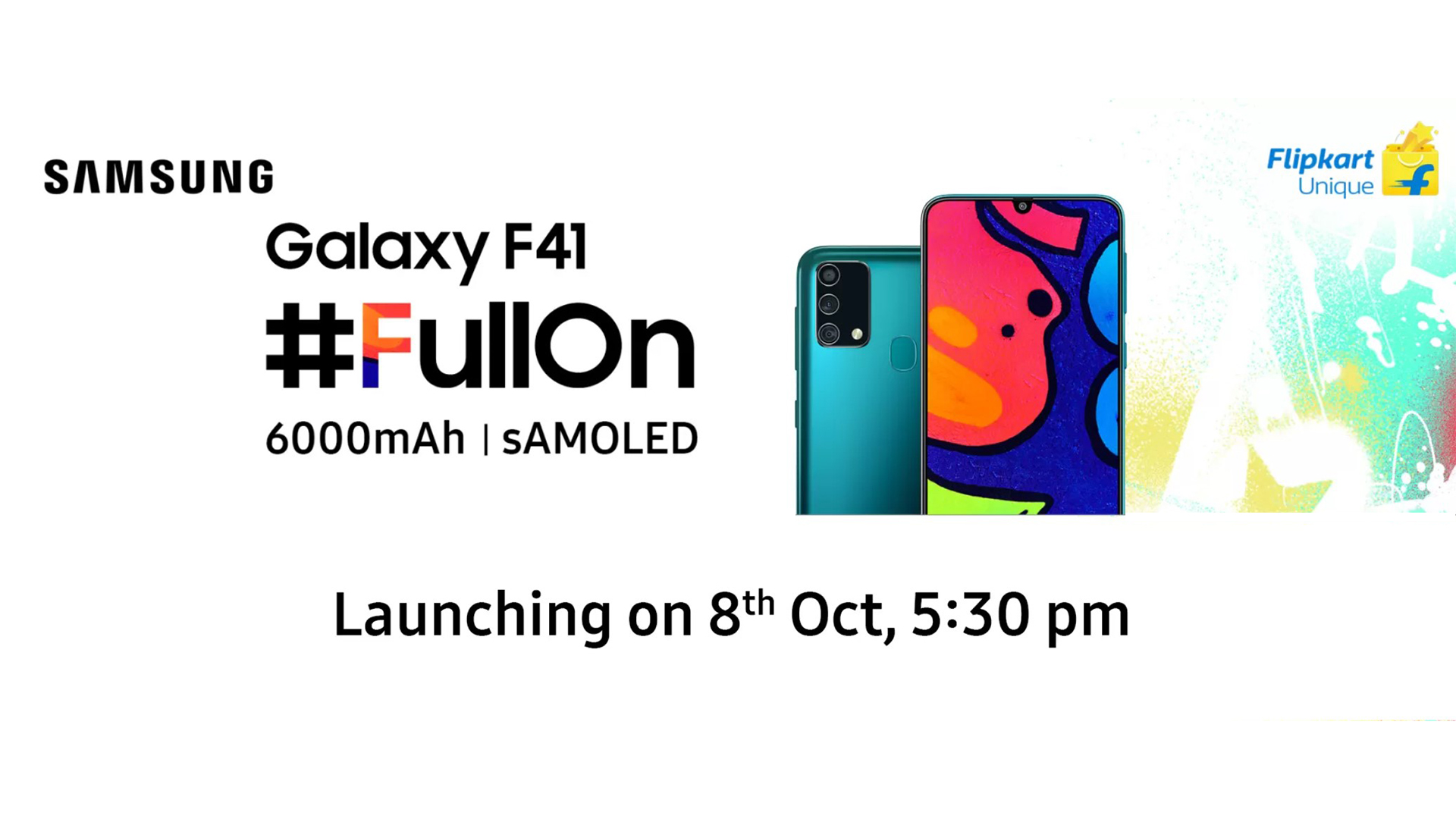Samsung Confirms Galaxy F41 S Battery Capacity Launch Date Sammobile