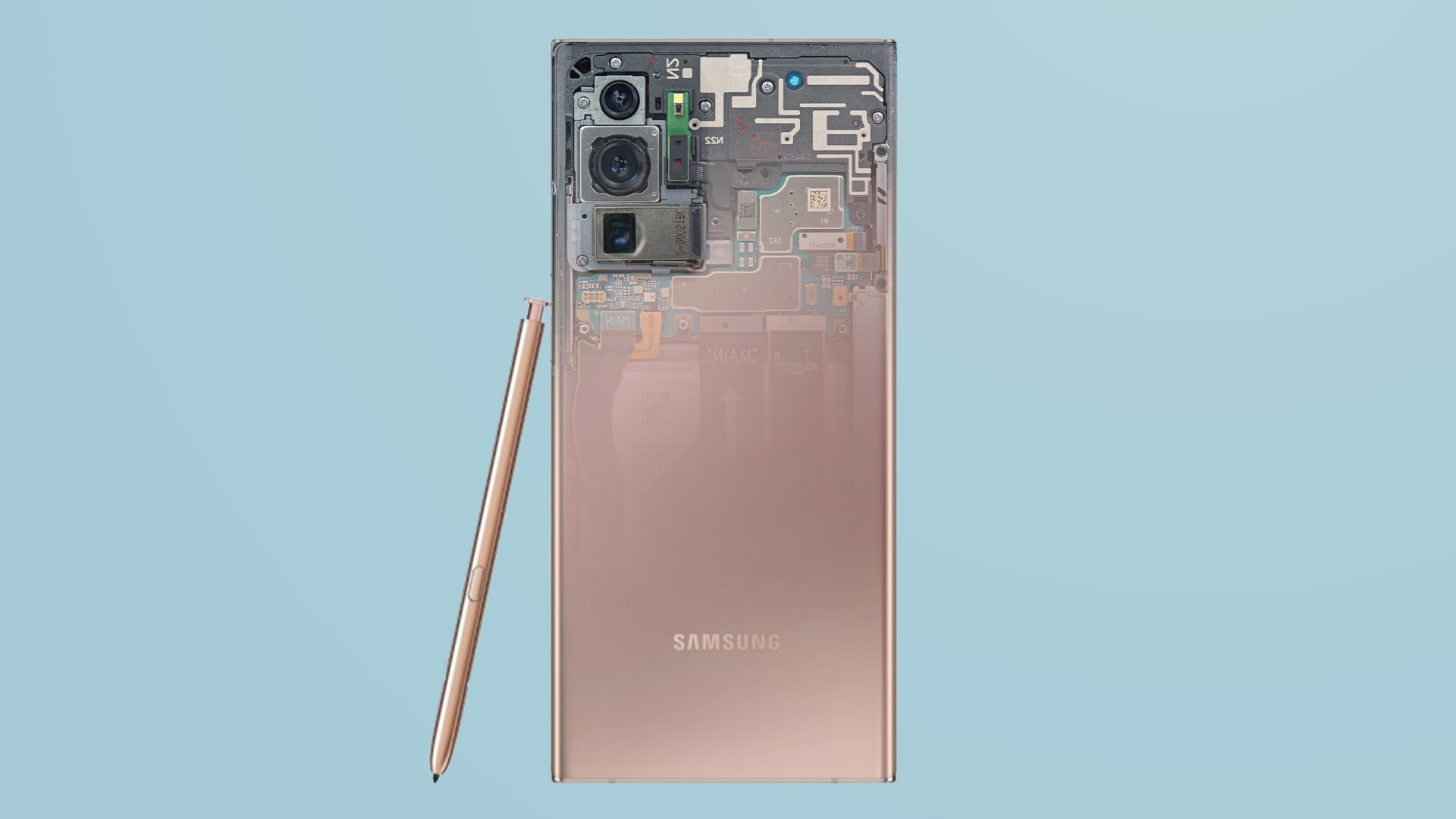 These Galaxy Note 20 Ultra Teardown Wallpapers Are A Tinkerer S Dream Sammobile