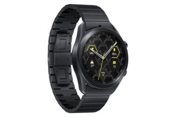 Samsung Galaxy Watch 3 Titanium Left