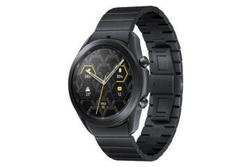 Samsung Galaxy Watch 3 Titanium Right