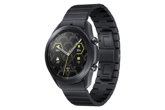 Samsung Galaxy Watch 3 Titanium Right