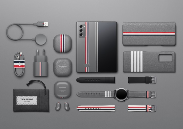 Samsung Galaxy Z Fold 2 Thom Browne Edition Package Box Contents