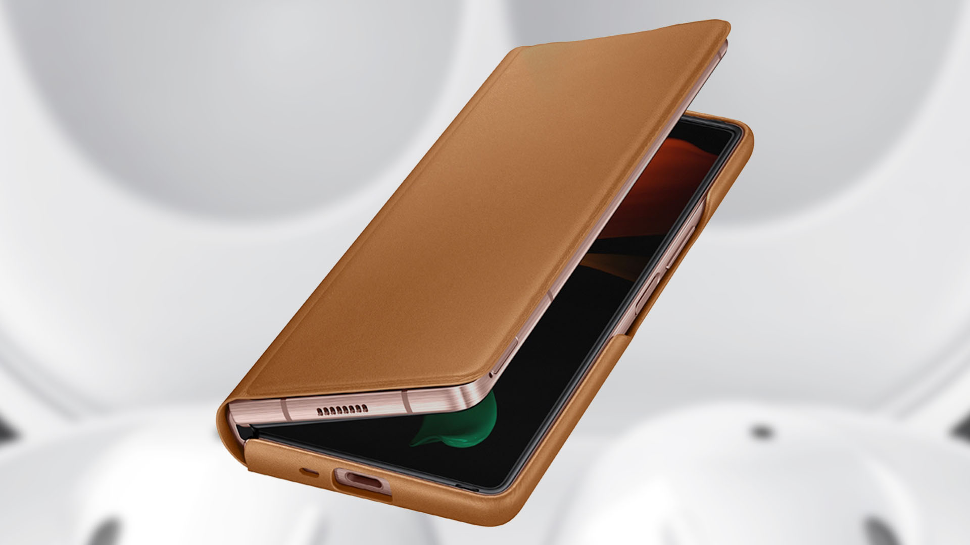 Samsung launches official leather covers for Galaxy Z Fold 2, Buds Live - SamMobile