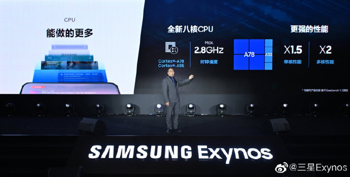 Samsung Exynos 1080 Specifications