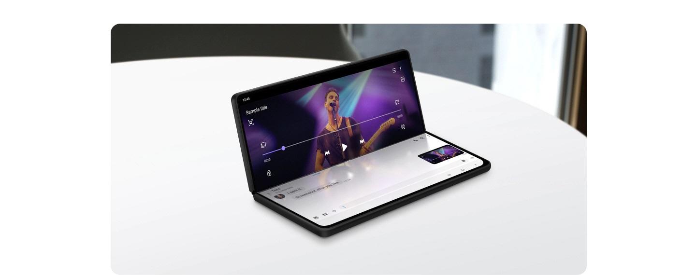 Samsung One UI 3.0 Flex Mode Galaxy Z Fold 2 Flip