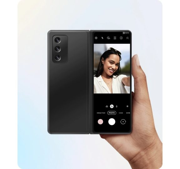 Samsung One UI 3.0 Rear Camera Selfie Galaxy Z Fold 2